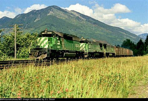 bn  west burlington northern train train rides