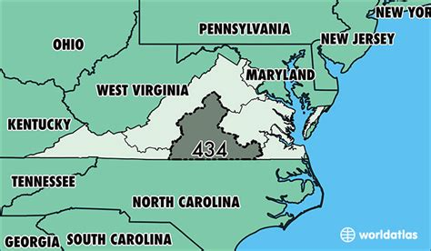 us area code virginia where is area code 434 map of area code 434 lynchburg