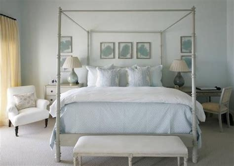 blue cream bedroom beautiful colors love everything about this room