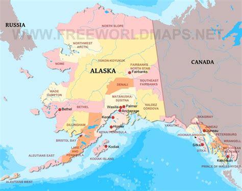 united states map plus alaska alaska maps