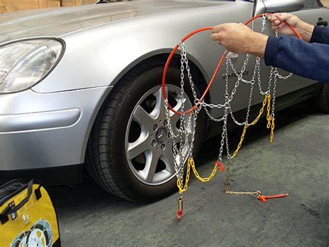 cadenas de auto para la nieve montaje de cadenas para nieve autos y motos taringa