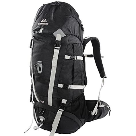 65l backpack multi day pack for hiking cing travel backpacking with cover large