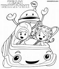 Team Umizoomi Coloring Pages  To Download And Print