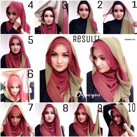 tutorial jilbab paris simple terbaru 25 kreasi tutorial hijab paris simple terbaru 2018