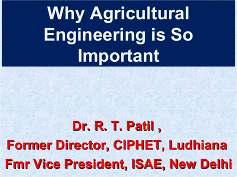 crop insurance important for ag industry washington ag why agricultural engineering is so important