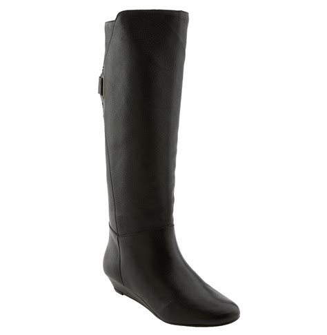 steve madden knee high boots steven by steve madden iden knee high boot in black black