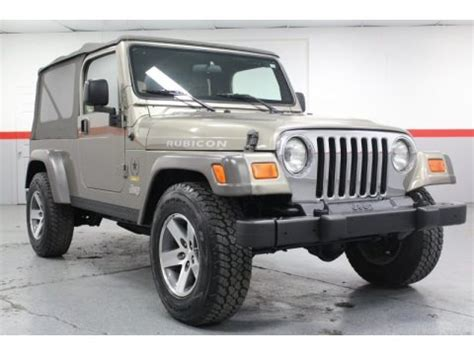 2005 Jeep Wrangler Specs 2005 Jeep Wrangler Unlimited Rubicon 4x4 Data Info And
