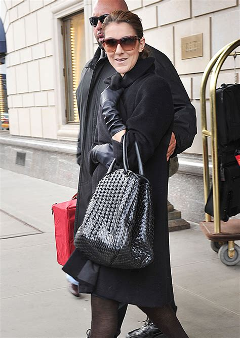Dita Teeses Yves Laurent Plaid Downtown Tote by Phantom Woven Canvas Bag Black Luggage Tote