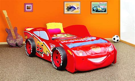 cars betten kinderbett disney cars lightning mcqueen autobett bett