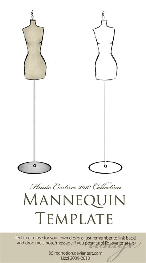 design mannequin template hc2010 mannequin for use by rednotion on deviantart