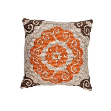Home Depot Pillows by Artistic Weavers Plaid 18 In X 18 In Decorative Pillow