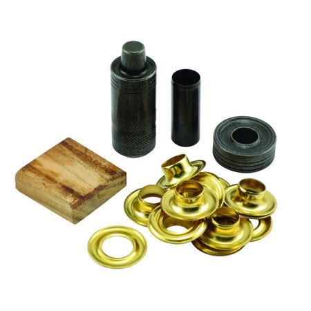 Solid Rubber Grommet Kit by General Tools 71264 Grommet Kit With 12 Solid Brass