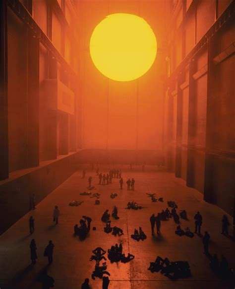 the weather experiment the the weather project artwork studio olafur eliasson