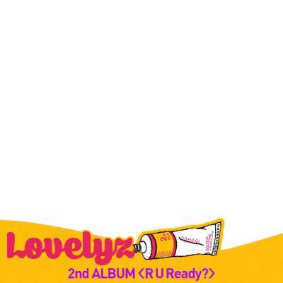 Album Lovelyz R U Ready lovelyz r u ready support caign twibbon