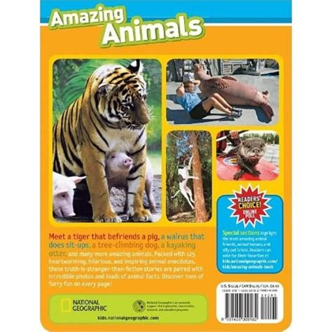 125 true stories of 142630918x national geographic 125 true stories of amazing animals babyonline