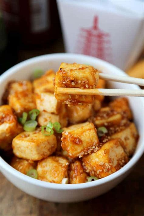 honey sriracha tofu pickled plum food and drinks