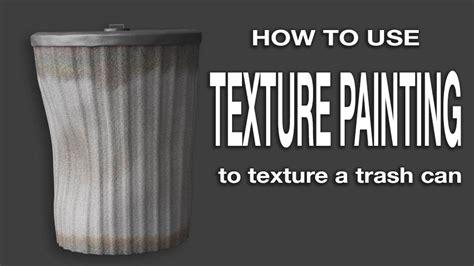 tutorial blender texture paint blender texture paint tutorial create a trashcan