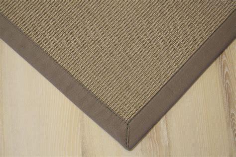 teppich 300x400 sisal teppich salvador mit bord 252 re creme stein 300x400 cm