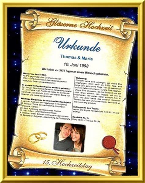 Hochzeit 55 Jahre by G 228 Serne Hochzeit Personalisierte Urkunde Als Geschenk