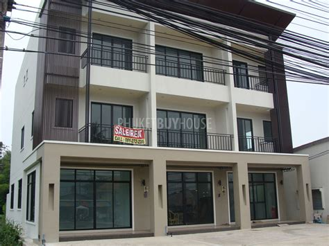 3 story building raw1076 new 3 story building infront of the road to rawai 1 km phuket buy house