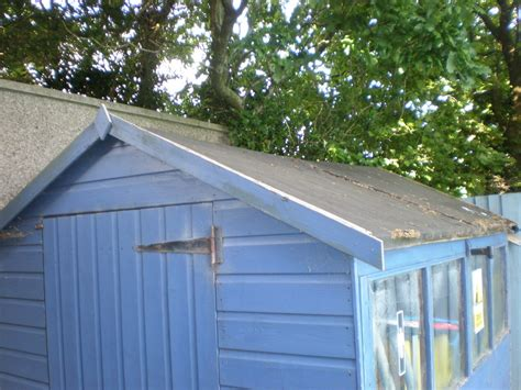 Felt A Shed Roof by Re Felt Shed Roof Garages Sheds In Plymouth
