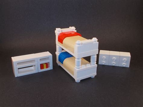 Lego Bunk Bed by Lego Furniture Ideas Legos