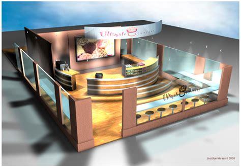 Cupcake Shop Interior Design by Interior Design For A Cupcake Shop On Behance