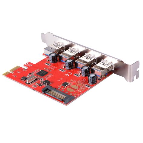 Usb 3 Pci Card pci express to 4 ports usb 3 0 pcie card adapter