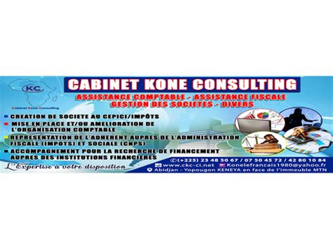 Cabinet Consulting by Ckc Cabinet Kone Consulting Expertise Comptable