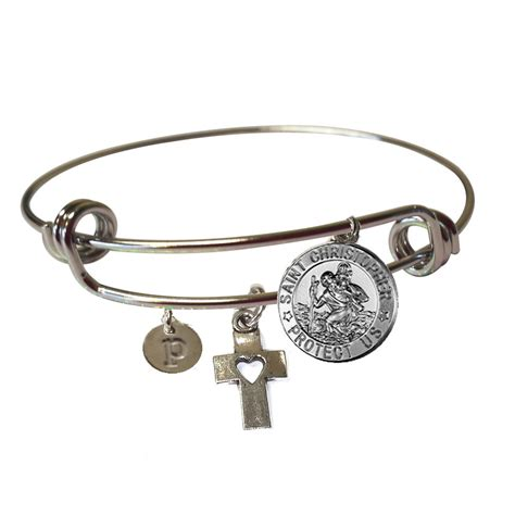sale st christopher jewelry st christopher bracelet st