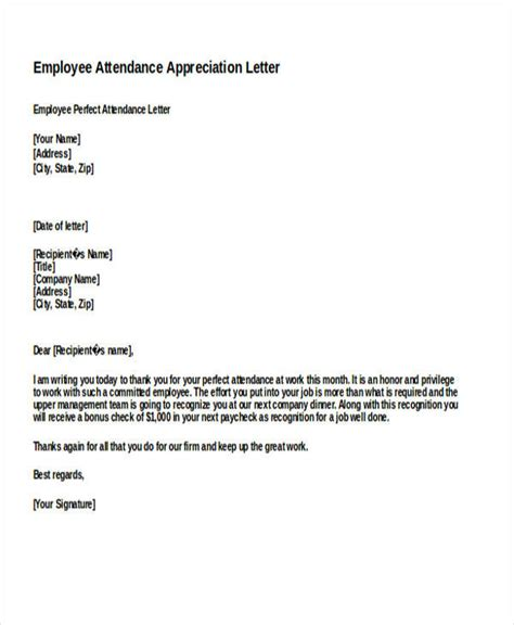 appreciation letter to all employees employee appreciation letter for work docoments