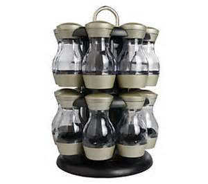 Large Rotating Spice Rack Kamenstein 16 Jar Revolving Spice Rack With Spices Qvc