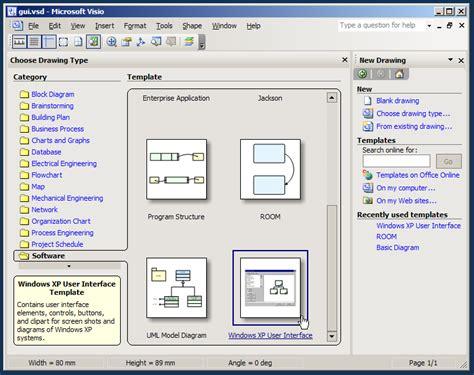 microsoft visio for windows xp tutorial microsoft visio user interface microsoft visio