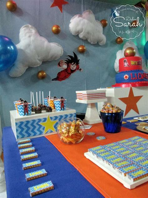 party themes a z dragon ball birthday party ideas photo 1 of 13 catch