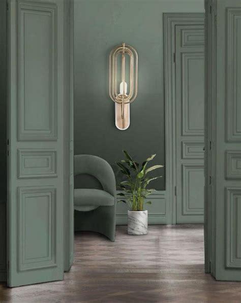 turner wall light  brass  aluminium  white