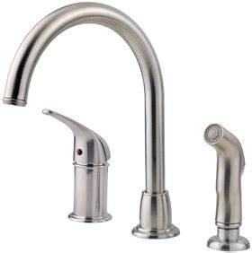 review on the pfister fwk1680s kitchen faucet with side spray