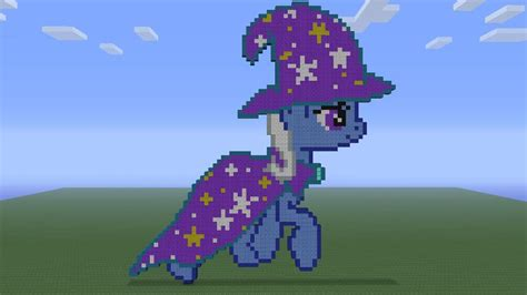 Mc 11 C Twilight Sparkle mlp the great and powerful trixie in minecraft by