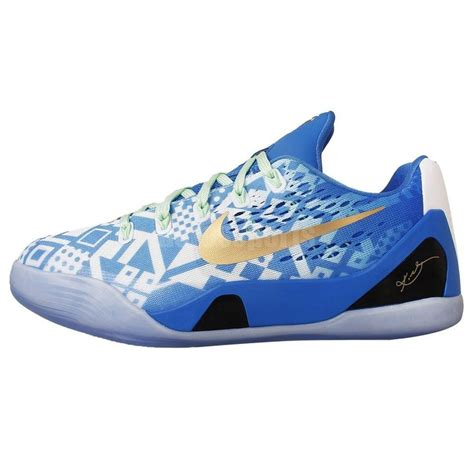 basketball shoes bryant details about nike ix em gs 9 blue white 2014 youth