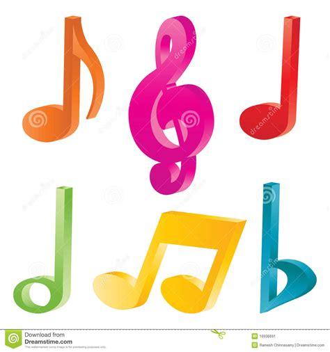 imagenes simbolo musical s 237 mbolos de m 250 sica imagen de archivo imagen 16936691