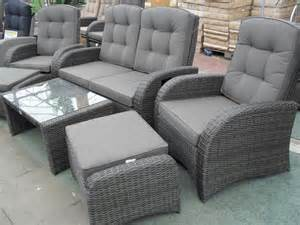 rattan sofa grau reclining rattan furniture premium quality rattan sets