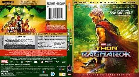 film thor ragnarok bluray thor ragnarok 4k bluray cover cover addict dvd covers