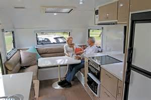 Storage Cupboards For Kitchens - sea breeze custom 24 review and photos caravan world