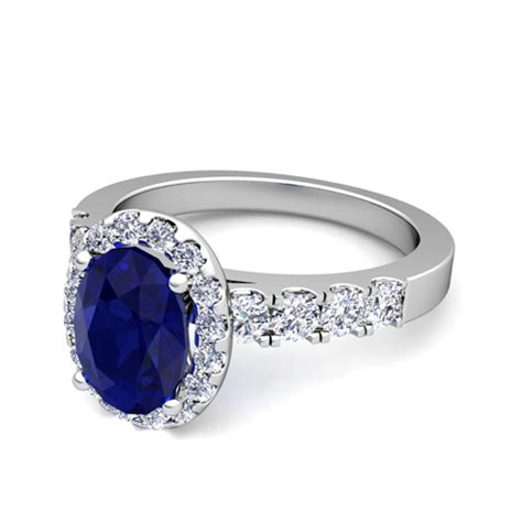 Create Your Own Engagement Ring by Create Your Own Engagement Ring In Halo Gemstone Ring