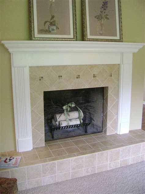 tile fireplaces on fireplaces jl tile fireplace traditional indoor fireplaces grand rapids by degraaf interiors