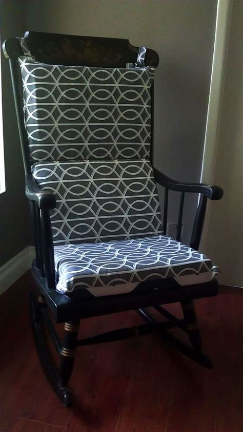 easy rocking chair cushion to make diy crafts that i