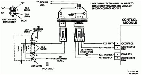 chevy hei distributor wiring diagram fuse box and wiring