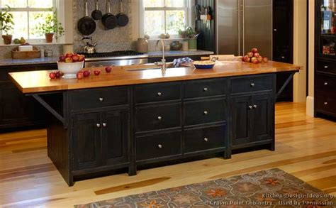 black wood kitchen cabinets pictures of kitchens traditional black kitchen