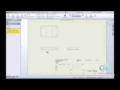 tutorial solidwork youtube tutorial solidwork 2012 planos 1 youtube