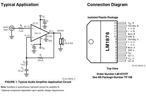 transistor a933 datasheet lm1876 verzerrung aufheben mikrocontroller net