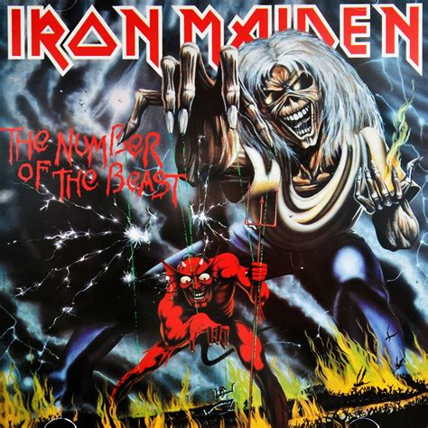 Vinyl Iron Maiden The Number Of The Beast new iron maiden number of the beast 180g vinyl